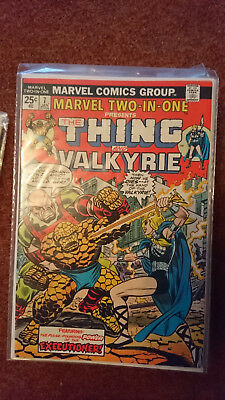 Marvel Two In One 7 (1St Series) - Thing And Valkyrie