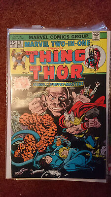 Marvel Two In One 9 (1St Series) - Thing And Thor