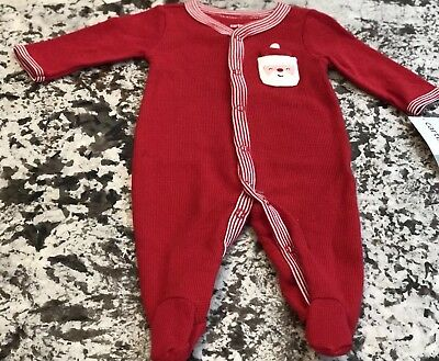 fd8bcff36 NWT BABY BOY Carters Christmas One Piece Pajamas  Sleeper Size ...