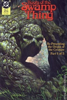 Roots of the Swamp Thing #1 1986 VF Stock Image