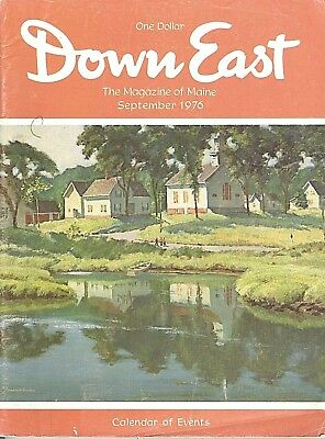 Down East Magazine~September 1976