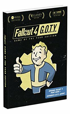 Fallout 4: Game of the Year Edition : Prima Official Guide-David Hodgson, Nick v