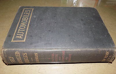 ca 1905_Self Propelled Vehicles Book_Motorcycle/Gas_Steam_Electric Auto/Carriage