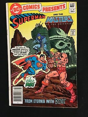 DC Comics Presents #47 - 1st He-Man in Comics & FREE SHIPPING!