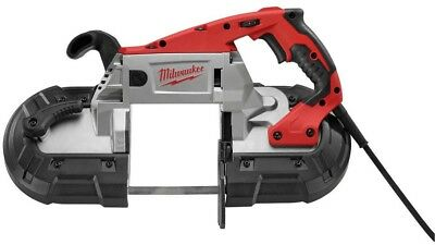 Milwaukee Portable Band Saw 11 Amp Corded Keyless Variable Speed Case Included