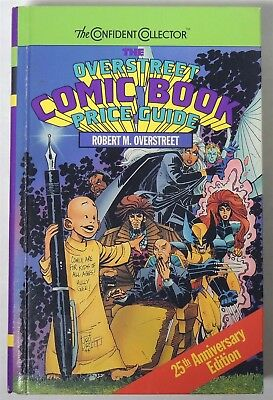 ESZ6597. The OVERSTREET Comic Book Price Guide 25th Edition Hardcover 1995 /