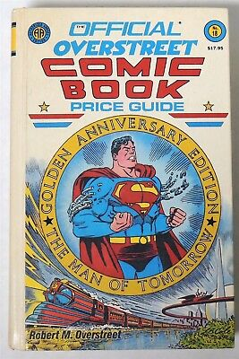 ESA1190. Official OVERSTREET Comic Book Price Guide 18th Edition Hardcover 1988/
