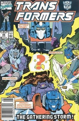 Transformers (Marvel) 1st Printing #69 1990 VG/FN 5.0 Stock Image Low Grade