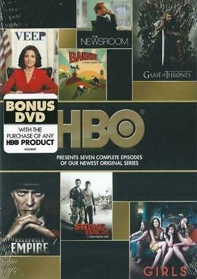 HBO Veep Game of Thrones Empire Girls Newsroom (7 COMPLETE EPISODES DVD) NEW