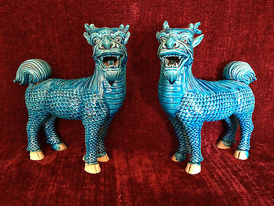 Qilin Statues - Late Qing Dynasty - China