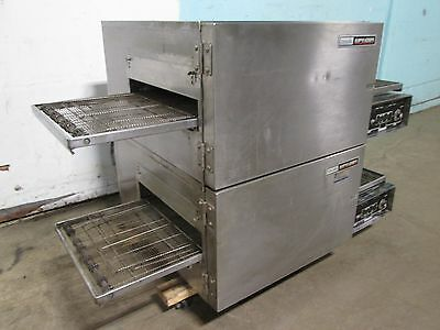 """LINCOLN IMPINGER"" COMMERCIAL HD DOUBLE STACKED 3Ph ELECTRIC CONVEYOR PIZZA OVEN"