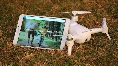 Drone by Yuneec Breeze With 4K Camera (Bluetooth Controller, Follow Me) HD View