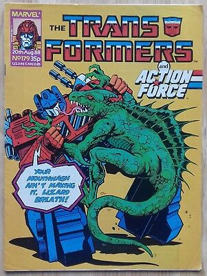 Transformers UK Comic Issue 179