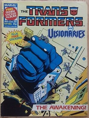 Transformers UK Comic Issue 186