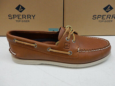 Men/'s Sperry Top-Sider GOLD CUP A//O 2-Eye Boat Shoe STS10216 Size 13 Brown