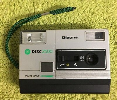 Vintage Disc camera Dixons 2500 - See Description