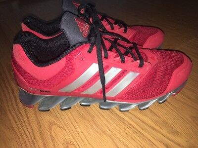 ade9e76ed50a DISCONTINUED ADIDAS SPRINGBLADE RAZOR Mens Running Red Size 9 very nice