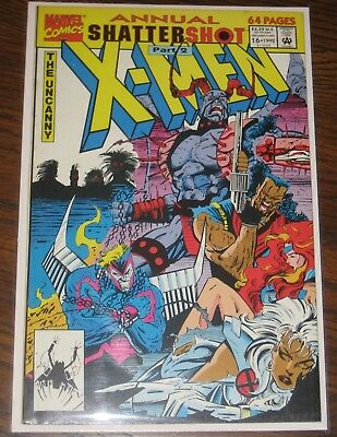 Uncanny X-men Annual #16 F/VF Marvel Comics Xmen
