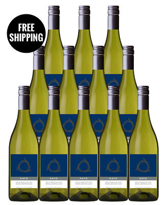 Kato Marlborough Sauvignon Blanc 2016 (12 Bottles)