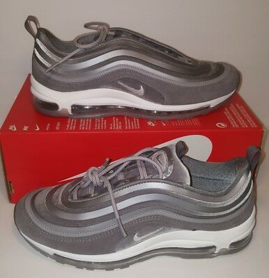 Nike Air Max 97 UL  17 LX Womens Velvet Gunsmoke Grey AH6805 001 Womens Size 84a2b7815