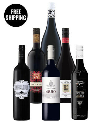 Big Hitter Barossa Shiraz Mix (6 Bottles)