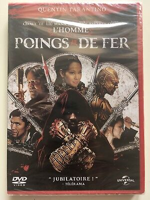 L'homme aux poings de fer DVD NEUF SOUS BLISTER Russell Crowe - Lucy Liu - Rza
