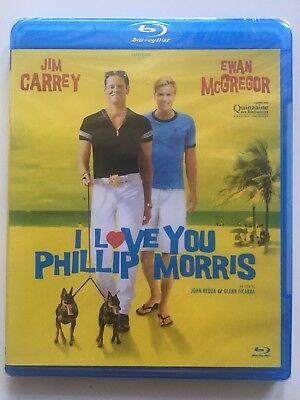BLU RAY neuf °°I LOVE YOU PHILLIP MORRIS°° Jim Carrey - Ewan McGregor