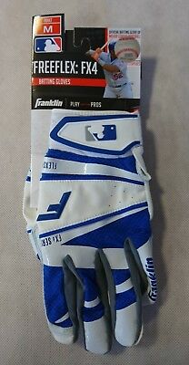 Franklin Batting Glove Freeflex FX4 - ADULT - Gr. M - Baseball-Handschuh weiß