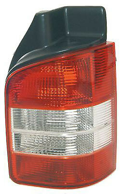 VOLKSWAGEN TRANSPORTER T5.1 2010 - Rear Tail Light Lamp Clear Ind RH Twin Door