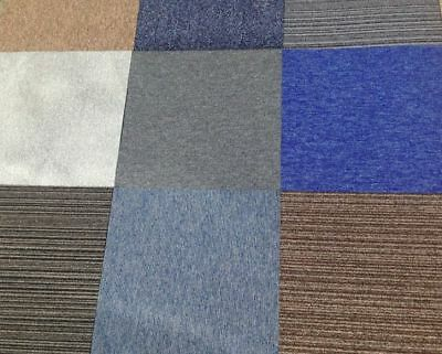 Random Mixed Brand New Perfect Hard Wearing Carpet Tiles Only £20 per box of 20