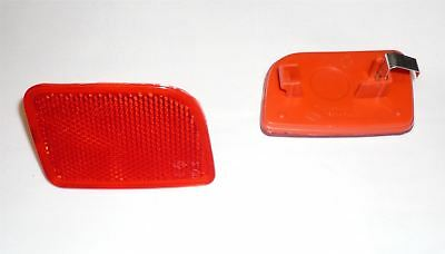 Renault Master MK3 rear bumper indicator reflector lens / left side
