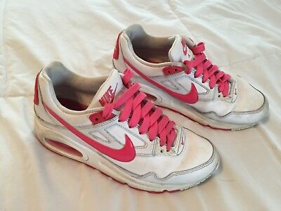 783deb5ae30726 Nike Air Girls Shoes Size 4.5 Y Youth 372197-161 White Pink Women s 6.5