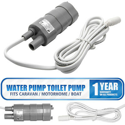 12V Motorhome High Flow Water Pump Whale pump Camper Caravan Submersible Pump