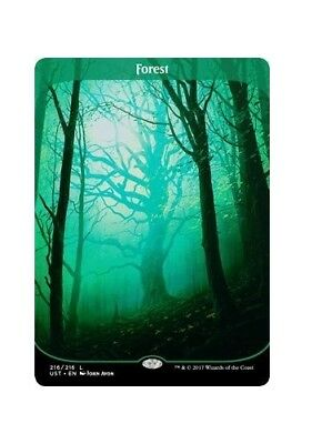 Forest 216/216 (Full Art) Unstable Single Magic The Gathering Land Card