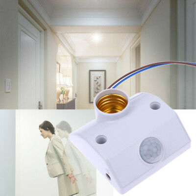 UK 170V-250V PIR Infrared Motion Sensor Detector Wall Light Outdoor 110° CE4