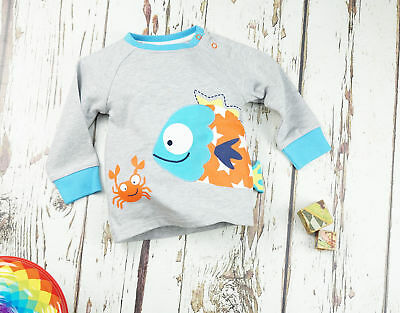 Blade & Rose fish tshirt top 0-6-12-18-24 months 1-2-3 years
