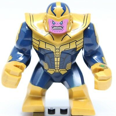 """"""" Big Size """" Marvel Avengers 3 Infinity War Thanos Fit Lego Minifigures Minifigs"""