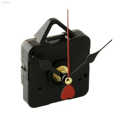Goodly Replacement Clock Movement with Hook Red Metal Heart Hands DIY 1D16418