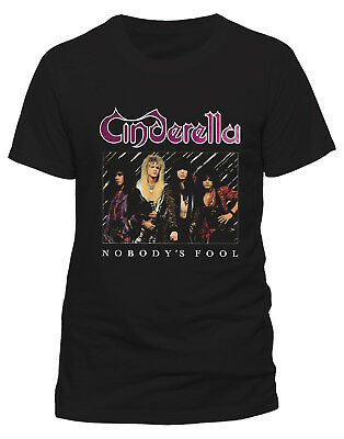 Cinderella 'Nobodys Fool' T-Shirt - NEW & OFFICIAL!