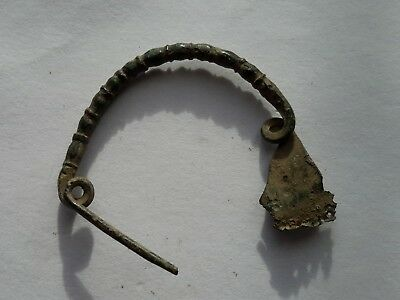 Roman bronze very small and beautiful brooch,Very Rare type,2nd-3rd century AD,