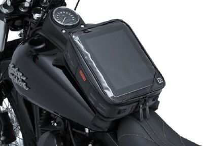 Kuryakyn 5294 XKursion XT Co-Pilot Motorcycle Tank Bag - Magnetic/Strap Mount