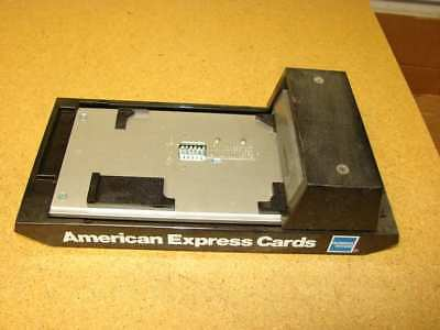 Credit Card Imprinter machine SLIDER Bartizan Nice Condition