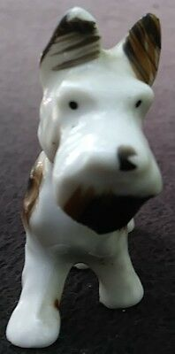 Vintage Fox Terrier Dog Ceramic China Figurine Made In Japan