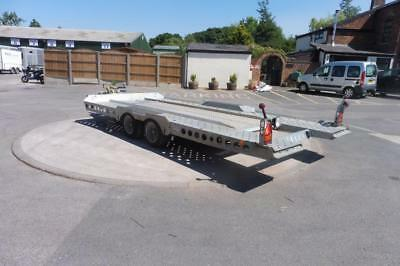 Used Ifor Williams CT177 Car transporter - Tiltbed- Electric Winch - 2016