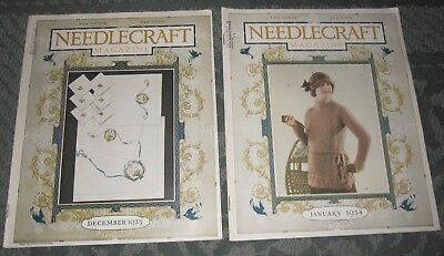 2 December 1923 And January 1924 Publications - Needlecraft