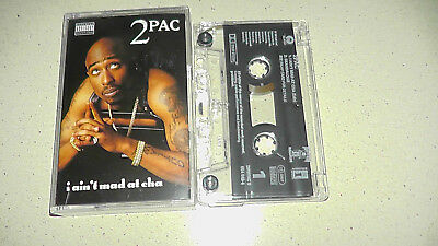 2pac i ain`t mad at cha music cassette single   fast dispatch