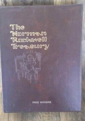 The Norman Rockwell Treasury by Thomas Buechner 1979 RARE GREAT PHOTO