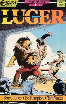 Luger (Eclipse) #1 1986 VF Stock Image