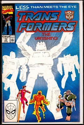Marvel Comics The TRANSFORMERS #73 FN/VFN 7.0