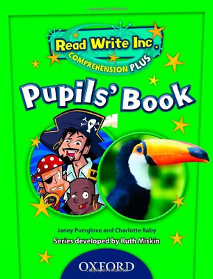 Read Write Inc. Comprehension Plus: Y6: Pupils' Book 6, Pursglove, Janey, Raby,